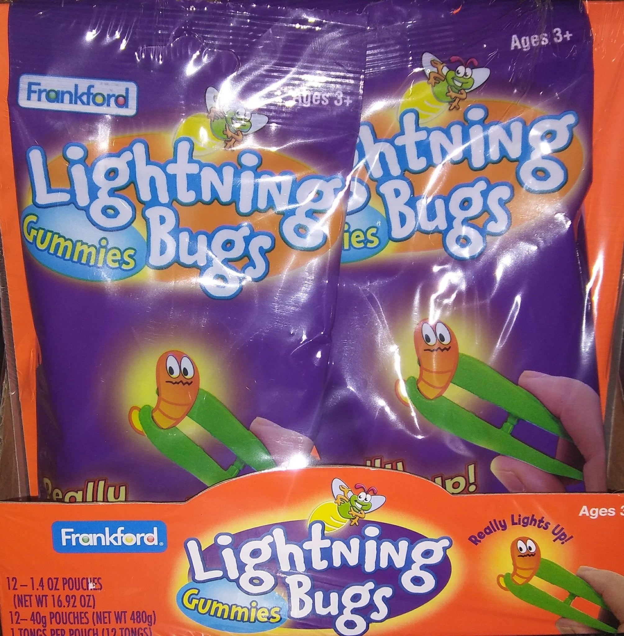 Lightning Bugs Gummi Candy 12ct