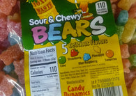 Toxic Waste Sour Chewy Bears 2.2lb