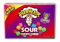 Impact Warheads Sour Chewy Cubes Theater Box 4oz 12ct