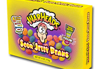 Impact Warheads Sour Jelly Bean Theater Box 4oz 12ct