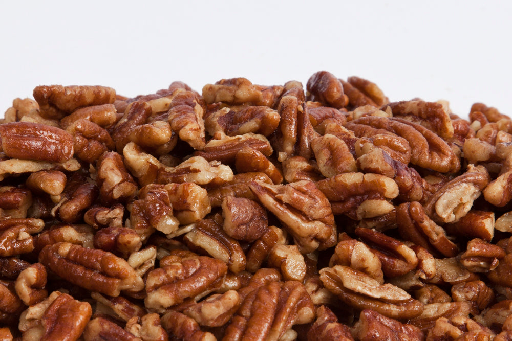 Roasted Salted Shelled Pecan Pieces 25lb