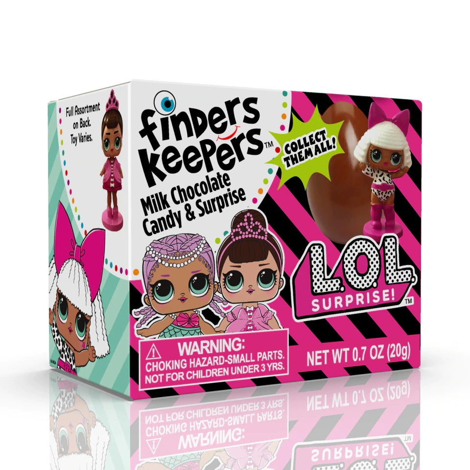 Topps LOL Surprise! Finders Keepers Candy Egg 6ct