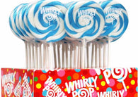 Adams & Brooks Light Blue & White Whirly Pop 1.5oz 24ct-online-candy-store-3213C