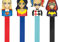 Pez DC SuperHero Girls Assorted 12ct