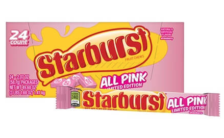 Starburst All Pink Limited Edition 2.07oz 24ct