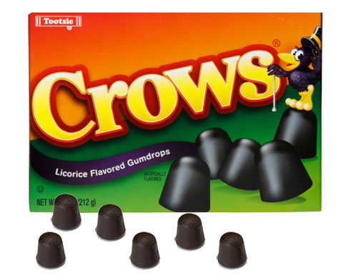 Tootsie Crows 6.5oz 12ct-online-candy-store-50312C