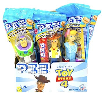 Pez Toy Story 4 12ct