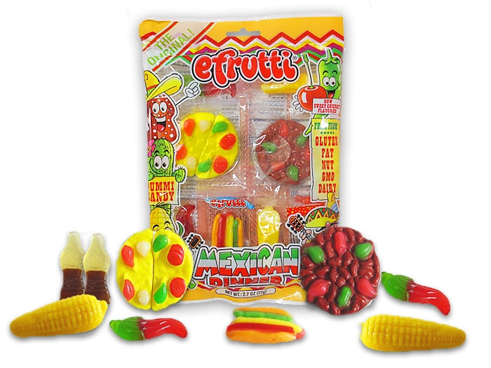 Efrutti Gummi Mexican Dinner 12ct