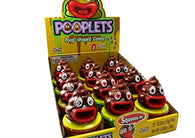 Kidsmania Pooplets Emoji Poop Shaped Candy Toy 12ct