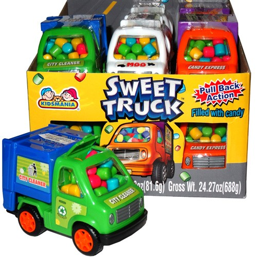 Kidsmania Sweet Truck Candy Filled Vehicles 12ct-online-candy-store-563