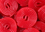 Gerrit Verburg Strawberry Red Licorice Wheels 4.4lb-online-candy-store-6052