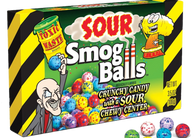 Toxic Waste Sour Smog Balls Theatre Boxes 3.5oz 12ct-online-candy-store-7436C