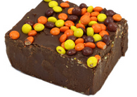 Asher's Chocolate Fudge with Reeses Pieces 6lb