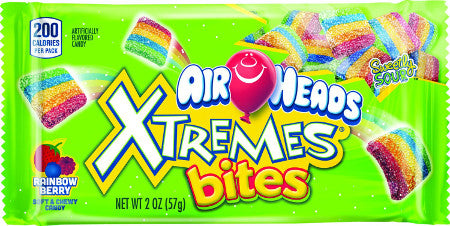 Van Melle Airheads Xtreme Bites Rainbow Berry 2oz 18ct-online-candy-store-6644