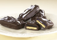 Asher Dark Chocolate Covered Graham Cracker with Raspberry Jelly 5lb-online-candy-store-59080