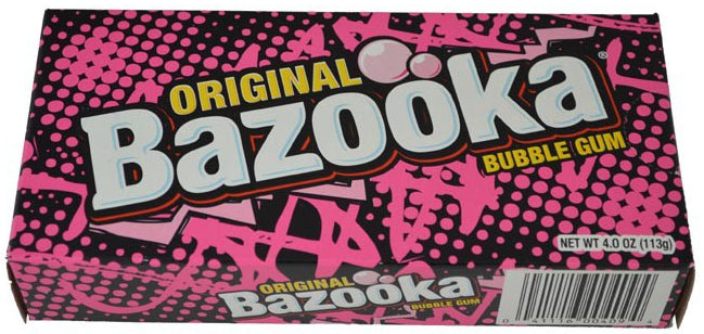 Bazooka Party Box Theater Size Box 4oz 12ct-online-candy-store-5409