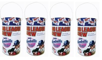 Big League Chew Mega Paint Cans 12ct