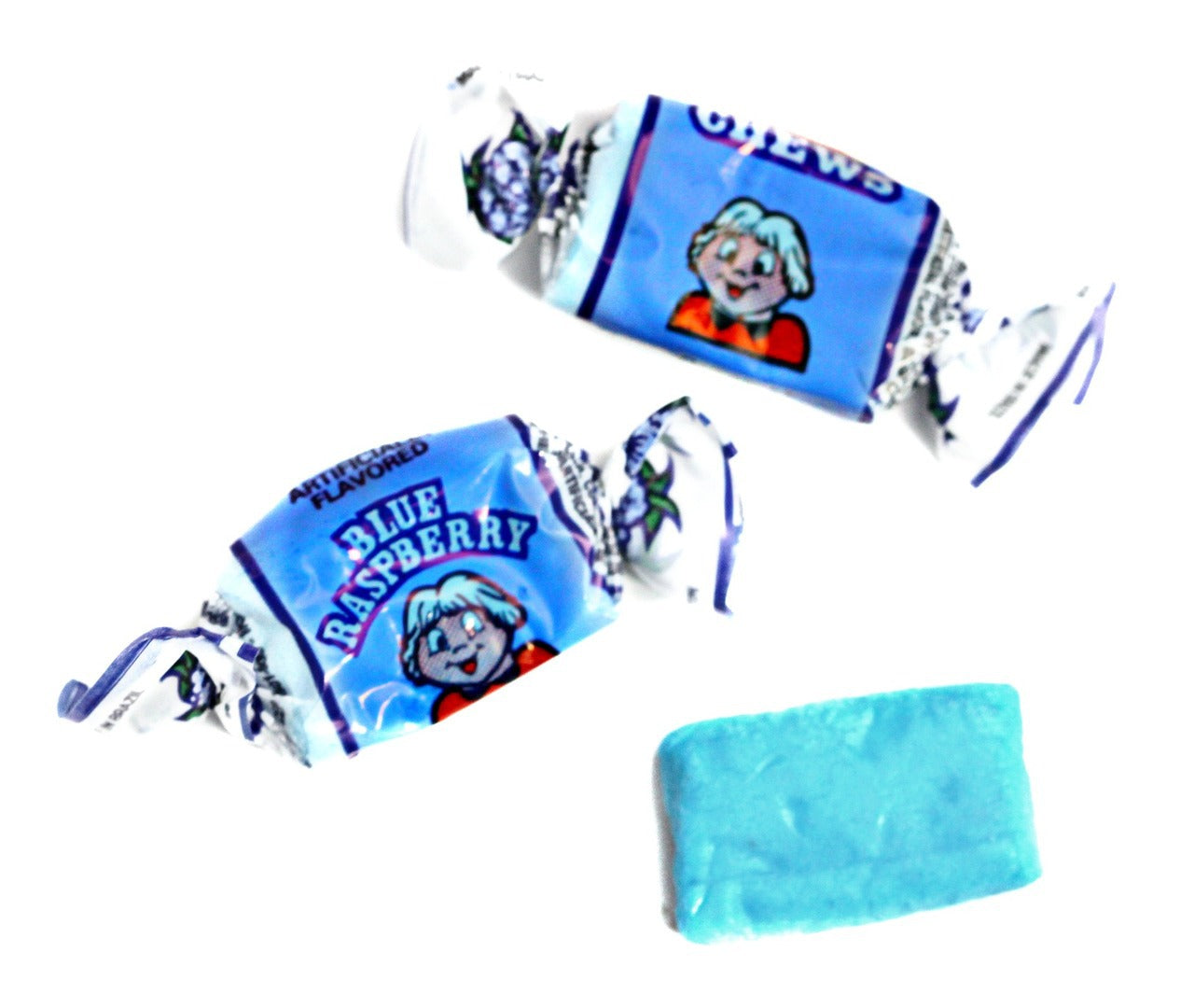 Alberts Fruit Chews Blue Raspberry 240ct