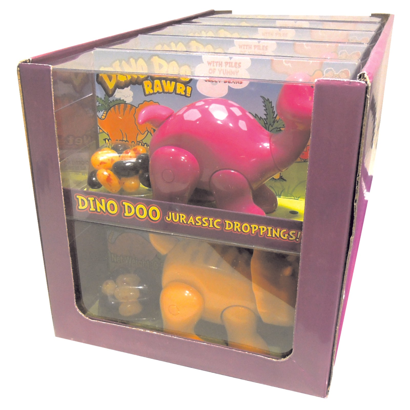 Kidsmania Dino Doo Pooping Dinosaur Jelly Bean Candy Dispenser 10ct-online-candy-store-554