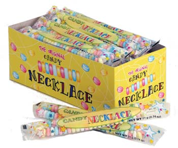 Smarties Candy Necklaces 24ct