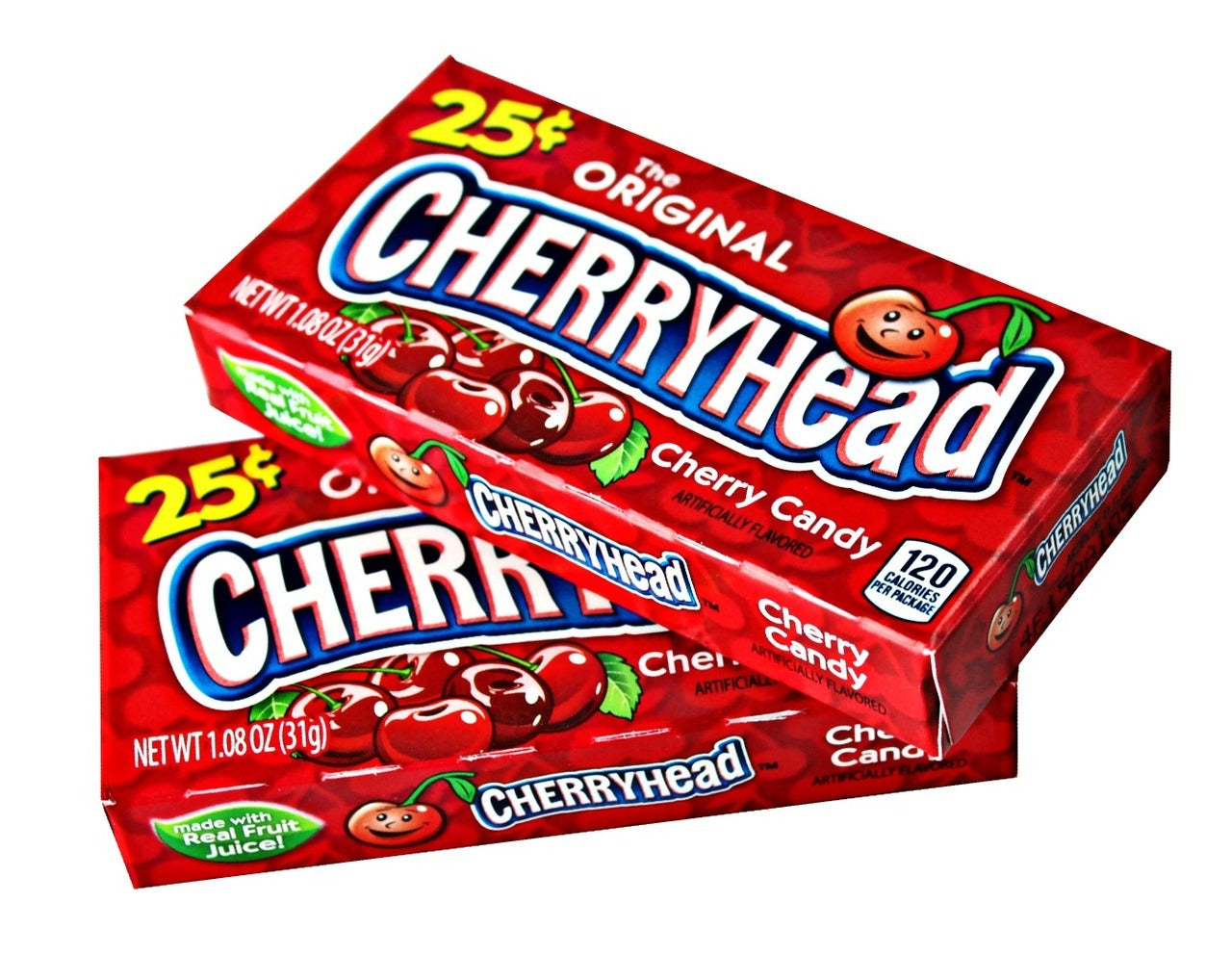 Ferrara Pan PrePriced $.25 Cherryhead Fruit Candy .8oz 24ct-online-candy-store-380356