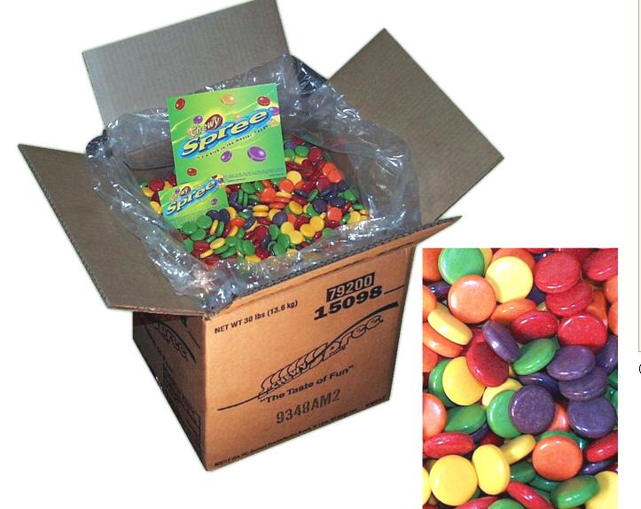Wonka Chewy Spree 30lb-online-candy-store-1434C