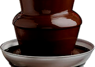 Wilbur Y880 Semisweet Fountain Chocolate Wafers 45 Viscosity 50lb-online-candy-store-51852