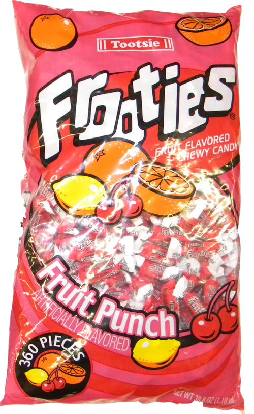 Tootsie Frooties Fruit Punch 360ct