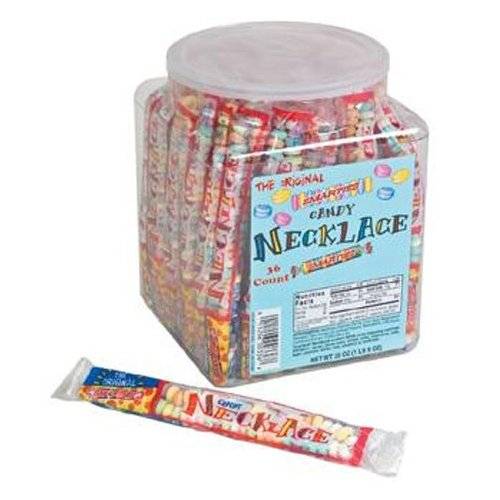 Smarties Jumbo Wrapped Necklaces 36ct-online-candy-store-359