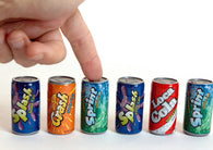 Kidsmania Soda Pop Fizzy Candy 6pk 12ct