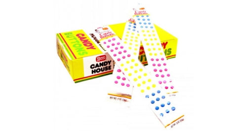 Doscher Candy Buttons .05oz Wrapped 24ct-online-candy-store-56201