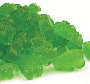 Albanese Gummi Bears Granny Smith Apple 5lb Bag