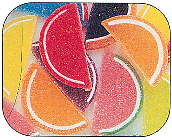 Boston Asst Fruit Slices Unwrapped 5lbs-online-candy-store-13151