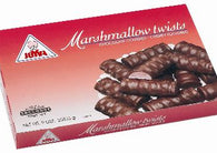 Joyva Dark Chocolate Covered Cherry Marshmallow Twist 5lb-online-candy-store-980