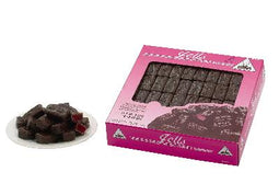 Joyva Dark Chocolate Covered Raspberry Jells 5lb