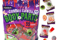 Frankford Gummy Body Parts 55ct bag-online-candy-store-161