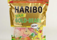 Haribo Sour Gold Bears 25.6oz Resealable Bag