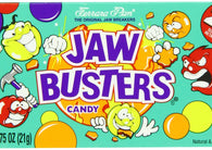 Ferrara Pan PrePriced $.25 Jawbusters Candy .75oz 24ct