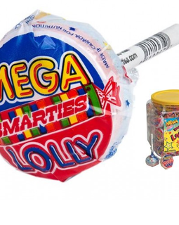 Smarties Mega Double Lollipops 60ct Tub-online-candy-store-303
