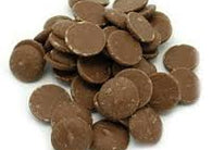 Merckens Marquis Milk Chocolate Buttons 50lb