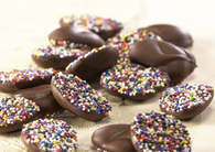 Asher Milk Chocolate Nonpareils With Multi Seeds 8lbs-online-candy-store-1295