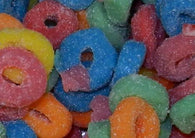 Ferrara Pan Mini Sour Gummy Rings 5lb