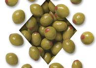 Koppers Pimento Olives Chocolate Covered Almonds 5lb Bag
