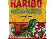 Haribo Rattle Snakes Gummi Candy 5oz 12ct