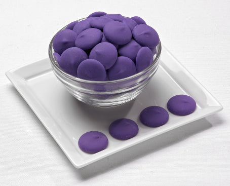 Merckens Orchid Purple Rainbow Melting Wafers