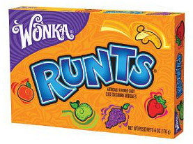 Wonka Runts 5oz Theater Box 12ct