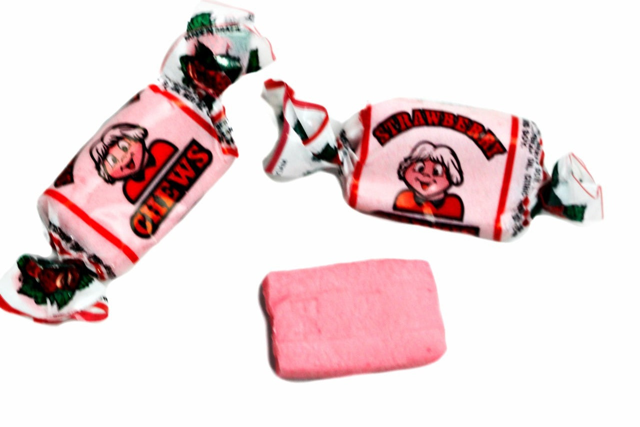 Alberts Fruit Chews Strawberry 240ct