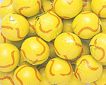 Thompson Foiled Chocolate Tennis Balls 10lb
