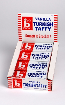 Bonomo Turkish Taffy Vanilla 1.5oz Bar 24ct-online-candy-store-1930