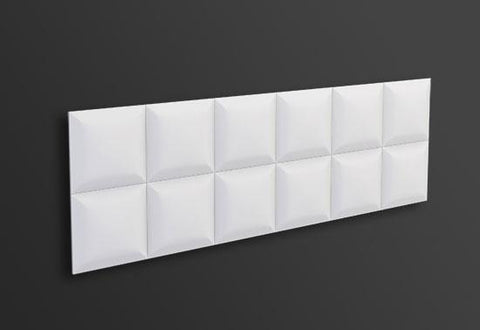 SQUARE 3D WALL PANEL 1PC, [shop-name]
